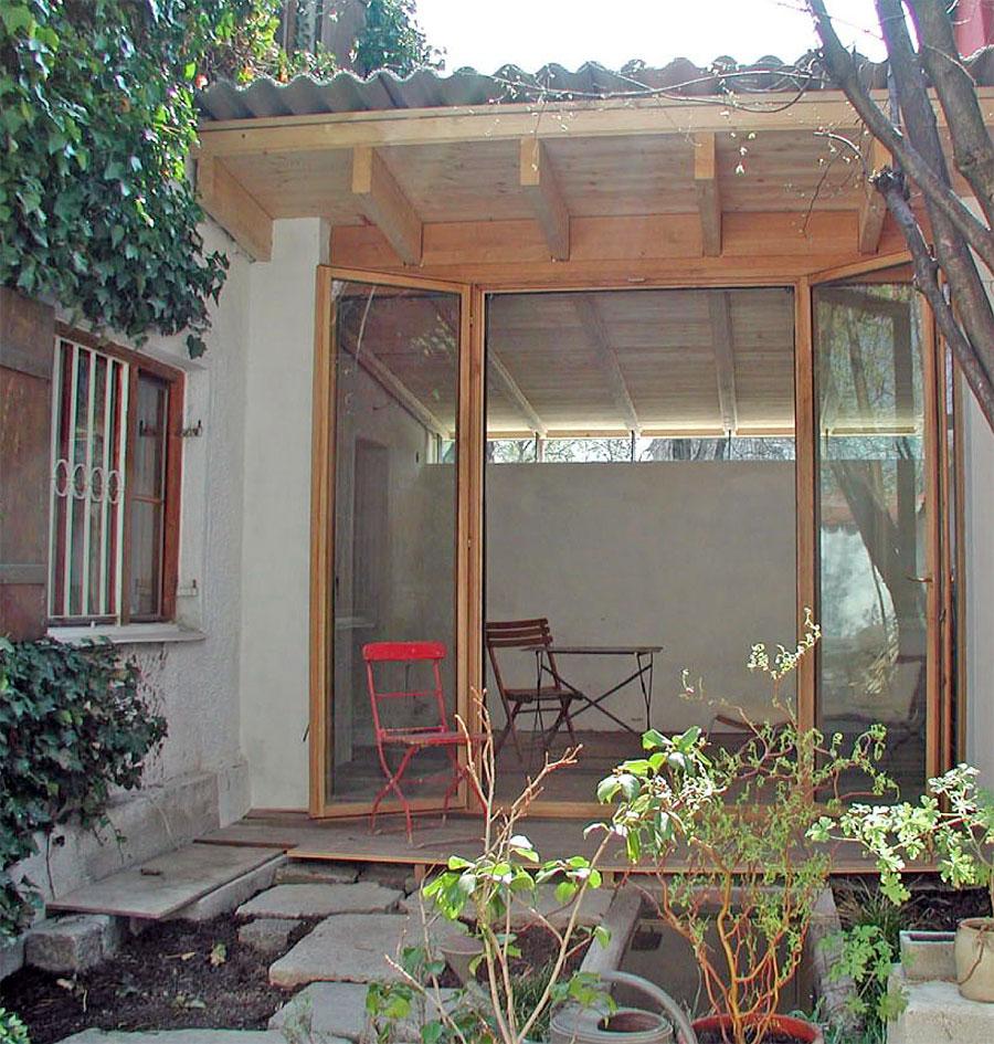 neues Wohnzimmer zum Innenhof