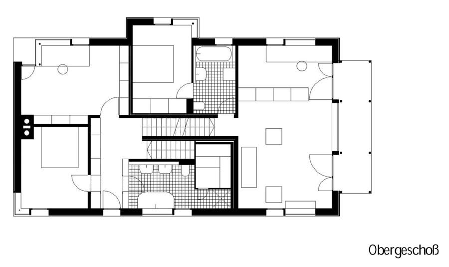 Grundriss 3 Obergeschoss