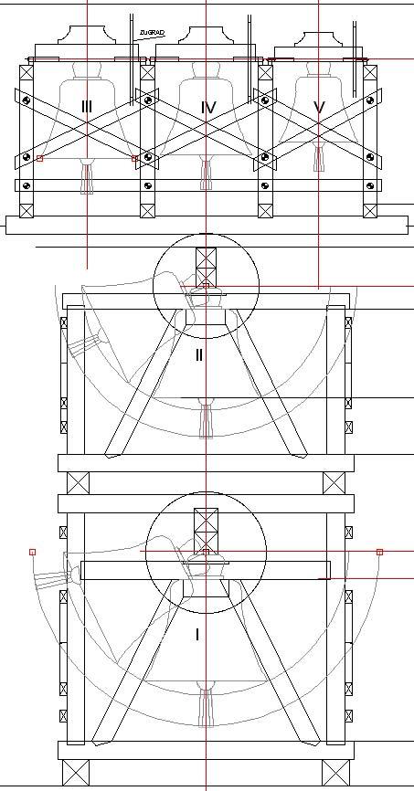 Grundriss Glockenturm Wettbewerb 1 Preis
