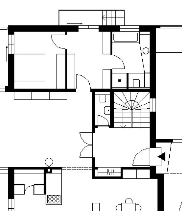 Grundriss Villa in Holzbauweise
