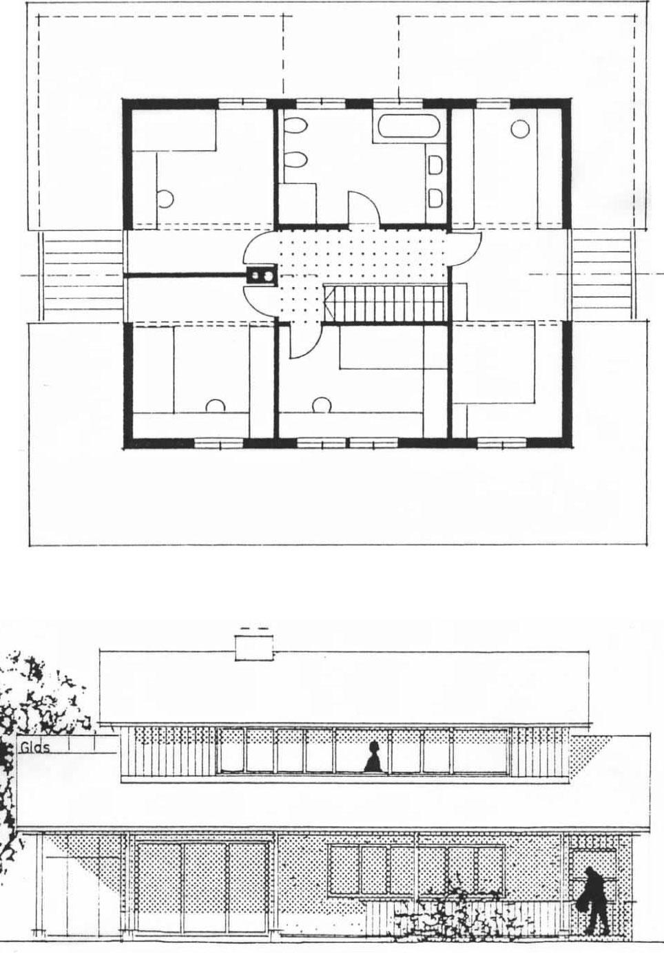 Wohnhaus Leutkirch Skizze 2