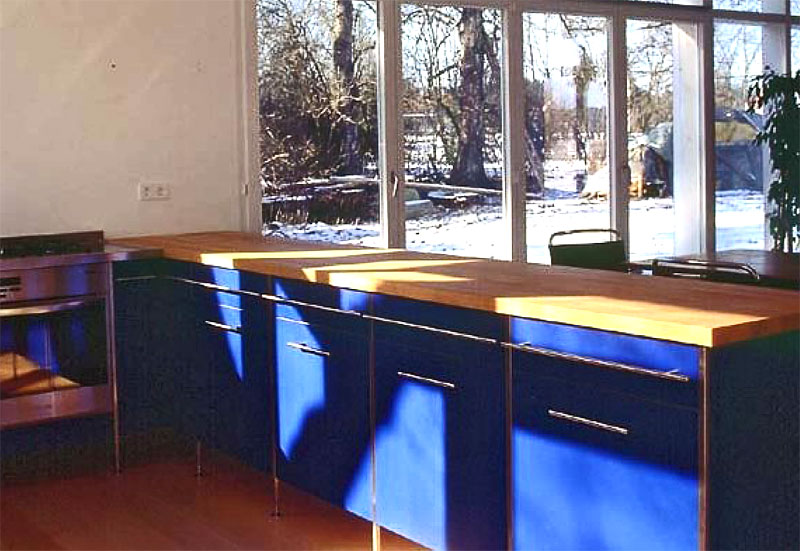 offene Küche Entwurf des Architekten